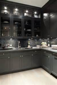 black and grey kitchen cabinets black kitchens on pinterest cabinets black kitchen