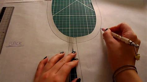 pattern cutting video tutorial pattern cutting tutorial how to eliminate back yoke darts