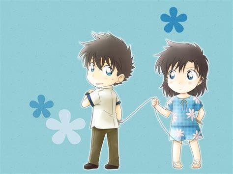 Set Kaito Kid Detective Conan 15cm chibi kaito and chibi aoko by arya032 on deviantart