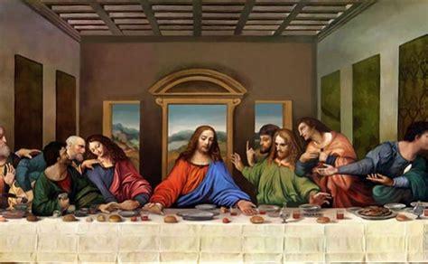 cuadro la ultima cena da vinci descubren el mensaje oculto en el cuadro de la 250 ltima cena