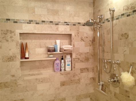 bathroom niche ideas shower tile fresh design