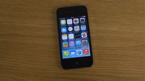 iphone 4 ios 7 1 beta review youtube