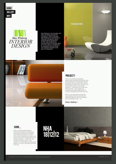 Interior Design Website Interior Website Templates