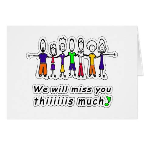 We Miss You Card Template by Miss You Cards Zazzle