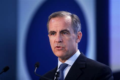 governor of bank of carney staying at the bank of matters fortune