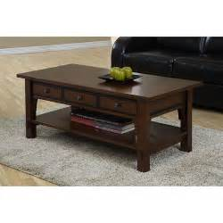 Overstock Coffee Table Talisman 3 Drawer Coffee Table Overstock Shopping