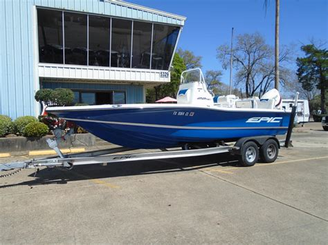 epic boats for sale in texas 2015 epic 22sc powerboat for sale in texas