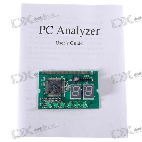 laptop 2 digits post diagnostic test card pc analyzer for mini pci slot free shipping