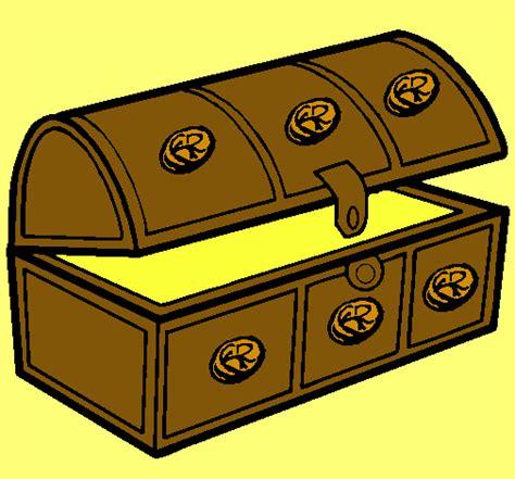 dibujo de un tesoro dibujo de cofre pintado por tesoro en dibujos net el d 237 a