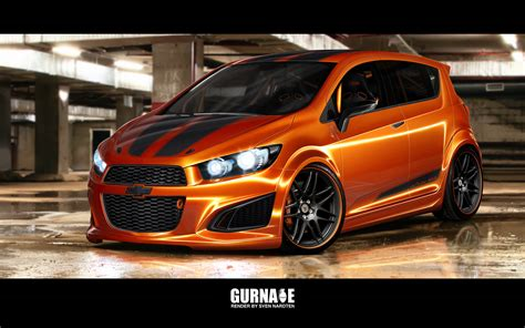Fußmatten Auto Chevrolet Aveo by Gurnade Chevy Aveo With Forgestar F14 Wheels Rendering By