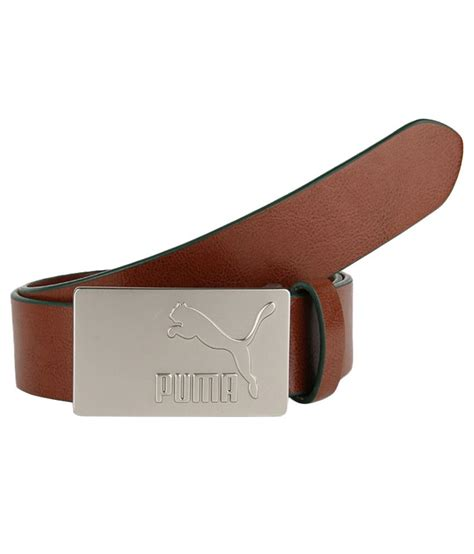 brown leather belt buy at low price in india