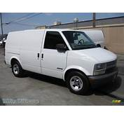 2001 Chevrolet Astro Commercial Van In Ivory White Photo