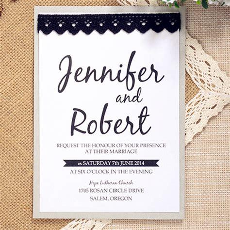 plain wedding invitations 23 classic black and white wedding ideas elegantweddinginvites