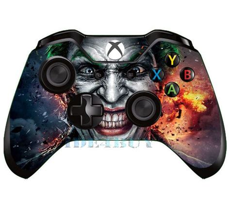 design xbox one controller skin details about popular horrible joker skin for xbox one x