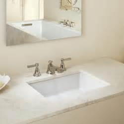 kohler undermount bathroom sink kohler verticyl rectangular undermount bathroom sink