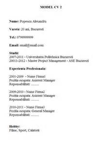 Resume Cv Model Model Cv