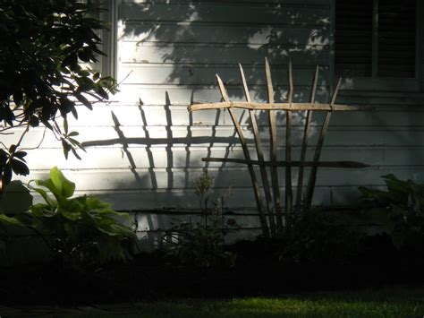 Stick Trellis tobacco stick trellis re useable