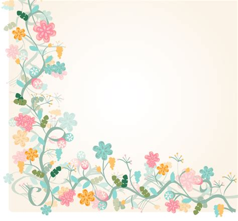 flower border template floral border background template 1090