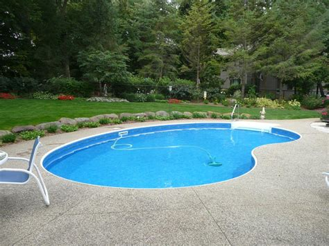 kidney pool waterford wi kidney pool vinyl liner replacement
