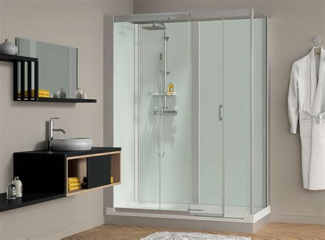 self contained bathroom kinemagic design self contained shower cubicle kinedo