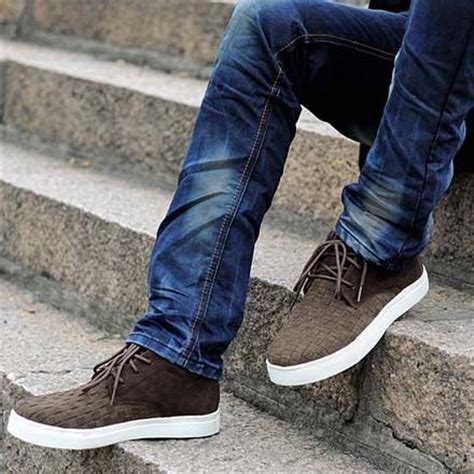 new trend shoes for look check brown shoes mens shoes