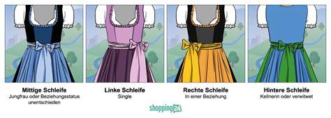 Schleife Dirndl Bedeutung by Dirndl Schleife Images