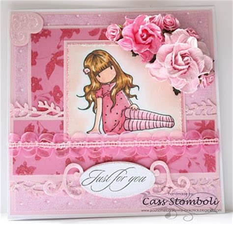 Handmade Card Blogs - pour some sugar on me pink pink and more pink