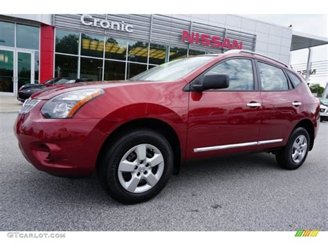 red nissan rogue 2015 cayenne red nissan rogue select s 107380001