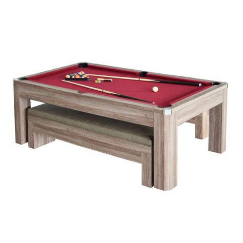 pool bench newport 7 ft pool table set with benches