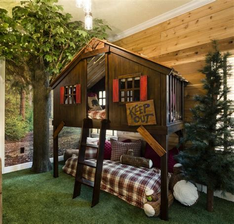 kids bedroom fort decorating a vacation home with creatively themed rooms