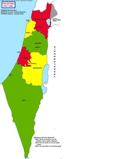 map of palestine hisatlas map of palestine 1917 1946