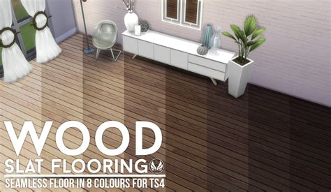 Cc Flooring by Sims 4 Wood Slat Wallpaper And Floors By