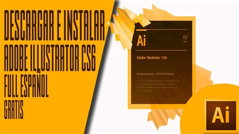 Adobe Illustrator Cs6 Youtube Descargar | descargar e instalar adobe illustrator cs6 portable para