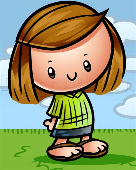 peppermint patty how to draw peppermint patty step by step comic book