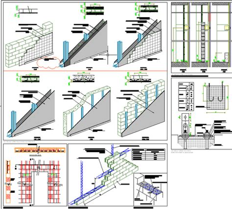 Free Kitchen Design Software Reviews different types of wall autocad model free download