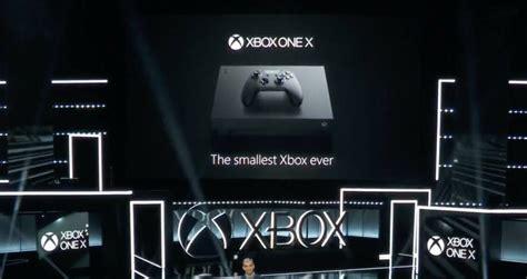 microsoft svela la nuova console xbox one x xbox one x dal 7 novembre a 499 av magazine