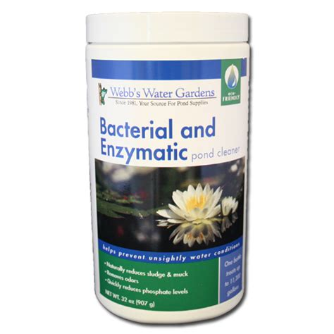 webb s water gardens bacterial and enzymatic pond cleaner