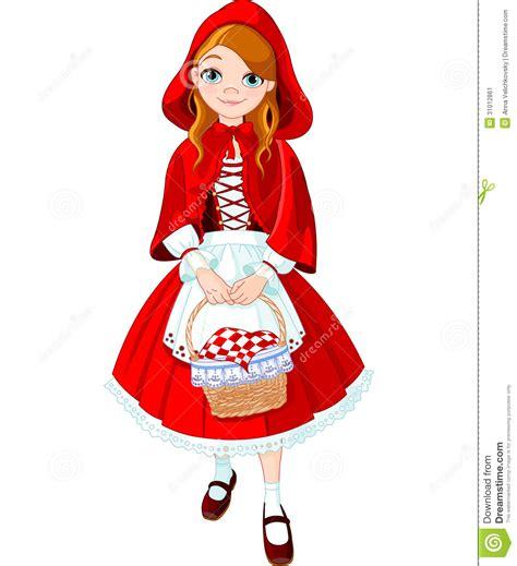 little red little red riding hood illustration