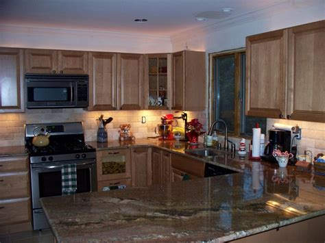 tile backsplash for kitchen the best backsplash ideas for black granite countertops home and cabinet reviews