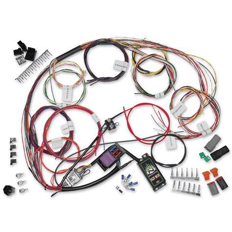 custom harness namz custom cycle complete bike wiring harness kit 745 072 j p cycles