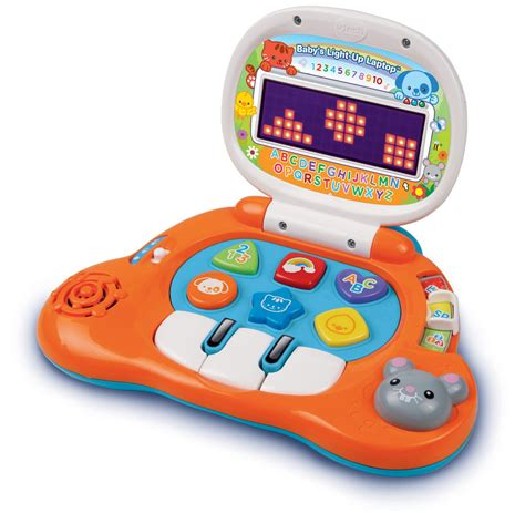 speelgoed computer baby s light up laptop bilingual learning toy