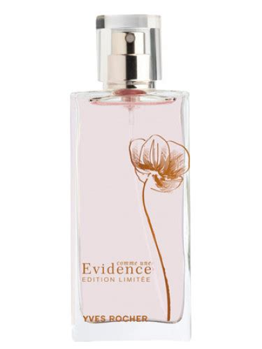 comme une evidence limited edition 2009 yves rocher perfume a fragrance for 2009