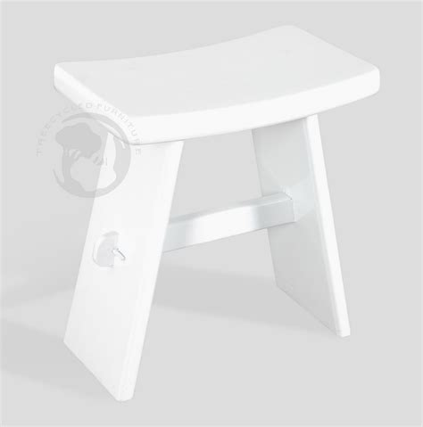 Small White Stool Furniture by Black And White Small Wooden Stool Series