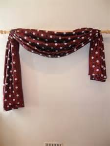 how to hang swag curtains the great way to hang your scarf swag curtains
