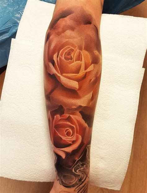 3d rose tattoos 120 meaningful designs pink tattoos