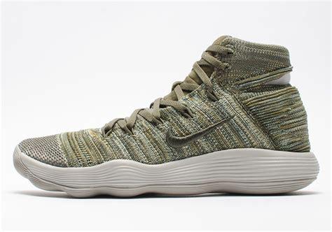 Nike React Hyperdunk 2017 nike react hyperdunk 2017 flyknit cargo khaki sneaker bar detroit