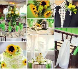 sunflower wedding ideas sunflower wedding decorations decoration