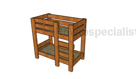 18 doll bunk bed plans how to build a doll bunk bed free 18 doll bed plans