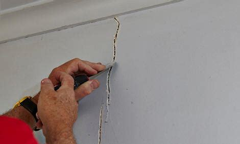 Filling Cracks In Plaster Ceiling by Renovation How To Deal With Cracking Plastered Walls