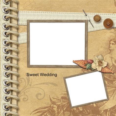 scrapbooking template wedding scrapbook ideas make a wedding photo album for